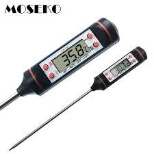 prix thermometre cuisine moseko numérique thermomètre à viande cuisson des aliments cuisine