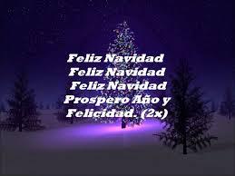 jose feliciano feliz navidad i wanna wish you a merry