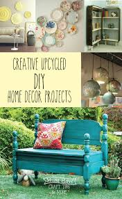 creative upcycled diy home decor projects mine for the making