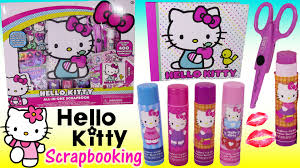 hello kitty all in one scrapbooking kit design your own book with
