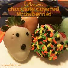halloween inspired chocolate covered strawberries an easy last