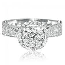 jewelry rings ladies images Ct diamond ring ladies engagement ring 14k white gold round jpg