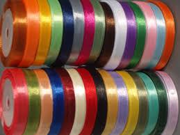 satin ribbon 30 rolls of satin ribbon 30 colours 750 yards 10 mm wholesale