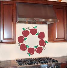 wall decor impressive apple wall decor kitchen for inspirations wall decorating awesome kitchen wall decorating ideas pictures red apple kitchen wall decal brown oak wood kitchen cabinet 45 modern awesome kitchen wall