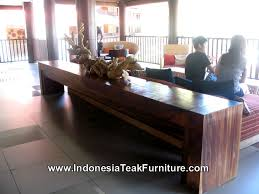 Balinese Dining Table Wood Dining Table Furniture Indonesia Outdoor Patio Garden Table