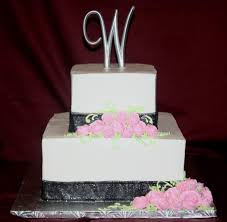 square wedding cake ideas