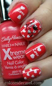 245 best love nails images on pinterest make up valentine day