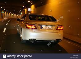 lexus ls sedan 2007 lexus ls 460 ambience impression model year 2007 white driving