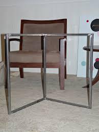 Diy Metal Desk by Build An Easy Welded Desk Base Dans Le Lakehouse