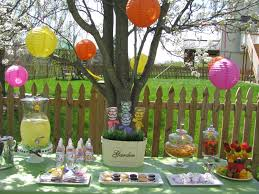 outdoor easter decorations captivating outdoor easter dessert table decoration with colorful