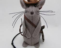 mouse indiana jones etsy
