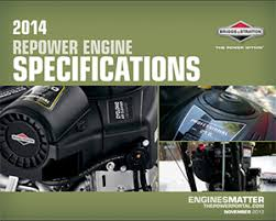 small engine replacement specifications briggs u0026 stratton