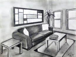 Couch Drawing Room With Couch Photo And A Window Room Drawings For Game