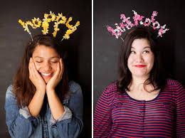 flower headbands diy floral happy birthday headbands diy