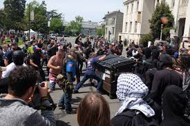 californian who helped lead charlottesville protests used berkeley