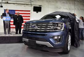 ford expedition 2018 ford expedition starts production at kentucky truck plant