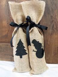 burlap christmas adorable burlap christmas gifts wrapping ideas