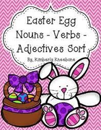noun verb u0026 adjective sort card seta great tool for helping