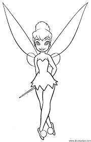 tinkerbell peter pan coloring pages coloring