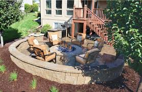 Landscape Fire Pits by Fire Pits Omaha Landscaping