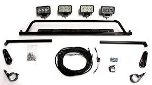 roll bar mount led light seizmik led light bar for 2 roll bars outdoor supply