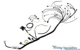 wiring specialties s13 sr20det pro universal race tucked harness