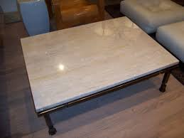 stone coffee table square coffee table design excelent travertine stone coffee table picture