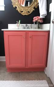 dwellings by devore pink bathroom vanity
