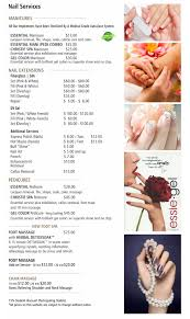 price menu nail services christie salon u0026 co