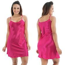 women u0027s silk satin sleepwear robe dress babydoll lingerie