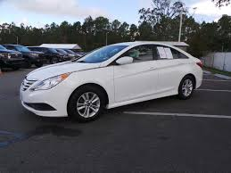 pre owned 2014 hyundai sonata gls 4dr car in jacksonville 76558a