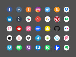 35 free social icons sketchblast download free sketch