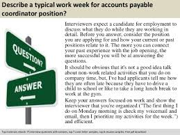 Sample Resume For Accounts Payable Specialist by Accounts Payable Specialist Interview Questions