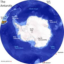Map Of The 7 Continents Polar Travel Antarctica And The Arctic A Comaparison To Help