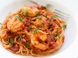 comment cuisiner les crevettes congel馥s spaghettis aux crevettes et à l ail au thermomix cookomix