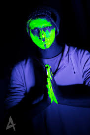 blacklight halloween party ideas 14 best uv face ect images on pinterest black lights body paint