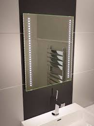 Demister Bathroom Mirrors by Star Led Bathroom Mirror 360 Illuminated Bathroom Mirrors