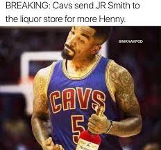 Jr Smith Meme - 16 best memes of the cleveland cavaliers lebron james trading half
