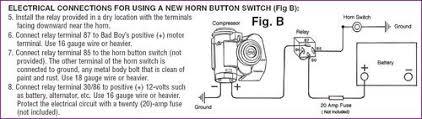air horn relay wiring question mgb u0026 gt forum mg experience