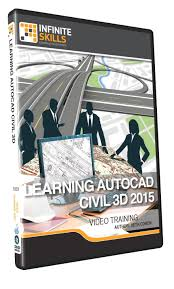 amazon com learning autocad civil 3d 2015 training dvd