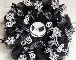 nightmare before christmas ribbon nightmare before christmas wreath etsy