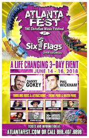Six Flags Over Georgia Ticket Price Promote Atlanta Fest
