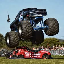 fire trucks monster truck stunt monster trucks rev up for preston park show the northern echo