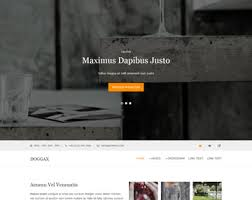 doggax website template free website templates os templates
