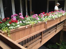 Long Planter Box by Deck And Rail Planters Deck Rail Planters Choice And Appearance