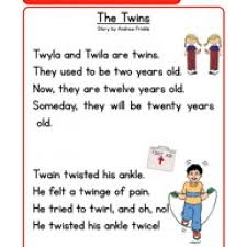 phonics stories comprehension tw speech language articulation