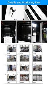 2015 popular design double door new model steel cupboard living