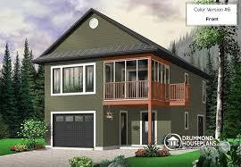 2 Bedroom House Plans Open Floor Plan House Plan W2933 Detail From Drummondhouseplans Com