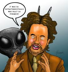 Giorgio A Tsoukalos Meme - giorgio tsoukalos cartoon by halhefnerart on deviantart