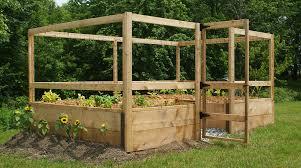 Deer Proof Fence For Vegetable Garden Gardens To Gro U2013 Ready Made Vegetable Gardens